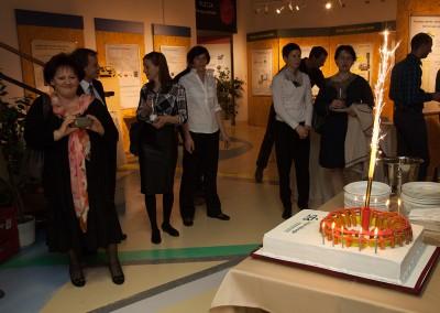 "torta ""tokamak"" za 10. obletnico SFA"