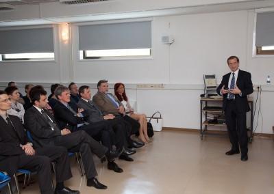 Simon Webster, vodja enote za fuzijsko energijo pri Evropski komisiji